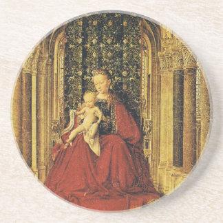Arte de enero Ven Eyck Posavasos Personalizados