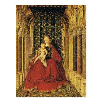 Arte de enero Ven Eyck Postal