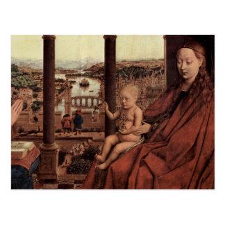 Arte de enero Ven Eyck Tarjeta Postal