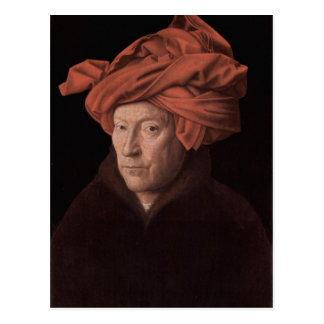 Arte de enero Ven Eyck Tarjetas Postales