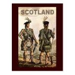Arte de Escocia Postal