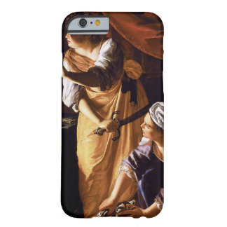 Arte de Gentileschi de la artemisia Funda De iPhone 6 Barely There