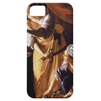 Arte de Gentileschi de la artemisia iPhone 5 Case-Mate Cárcasas