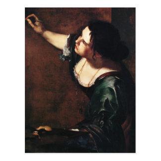 Arte de Gentileschi de la artemisia Tarjeta Postal