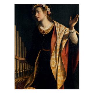 Arte de Gentileschi de la artemisia Tarjetas Postales