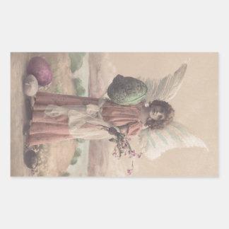 Arte de Gifting del ángel de Pascua de la Rectangular Altavoces