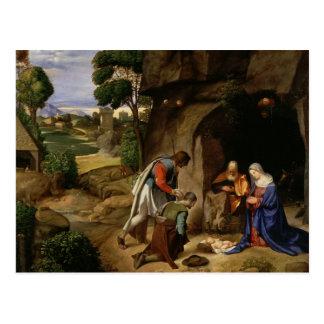 Arte de Giorgione Tarjeta Postal