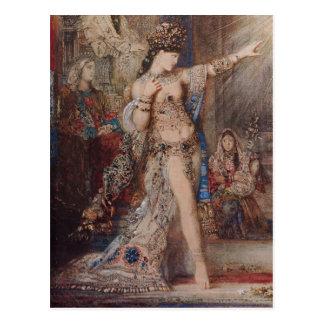 Arte de Gustave Moreau Postal