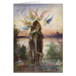 Arte de Gustave Moreau Tarjeta De Felicitación