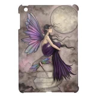 Arte de hadas a la deriva de la libélula de la fan iPad mini fundas