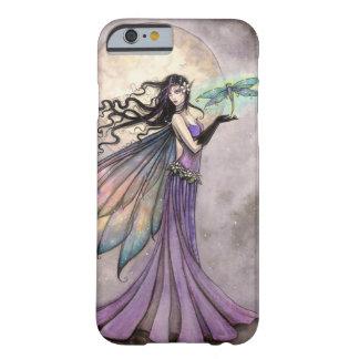 Arte de hadas de la fantasía de la libélula de la funda barely there iPhone 6