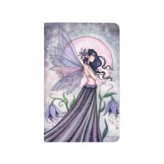 Arte de hadas de la fantasía de la orquídea de la  cuaderno