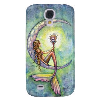 Arte de hadas de la fantasía de la sirena por Moll Funda Para Galaxy S4