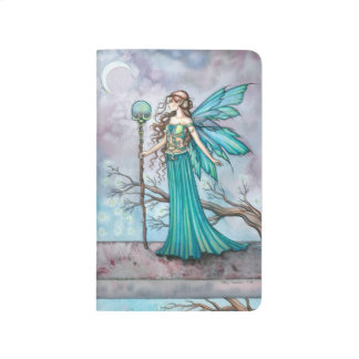 Arte de hadas de la fantasía del árbol místico cuaderno