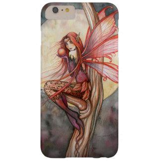 Arte de hadas de la fantasía del Faerie del otoño Funda Para iPhone 6 Plus Barely There