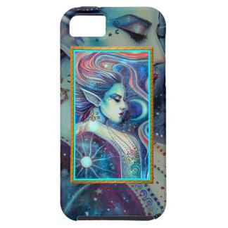Arte de hadas de la fantasía del Faery de Celesta iPhone 5 Protectores
