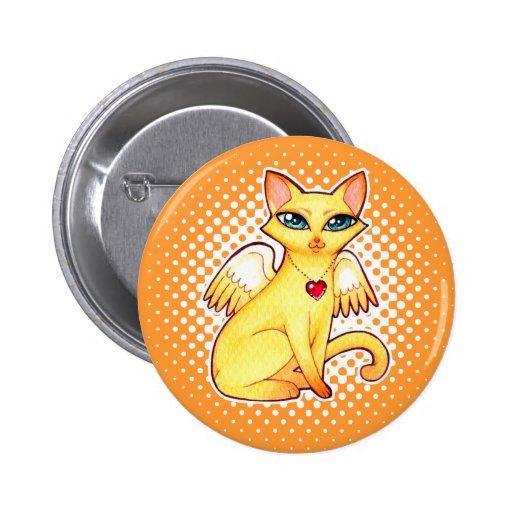 Arte de hadas de la fantasía del gato del gatito d pins