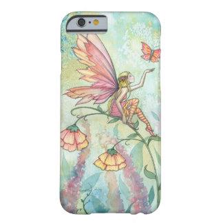 Arte de hadas de la mariposa de la fantasía de la funda de iPhone 6 barely there