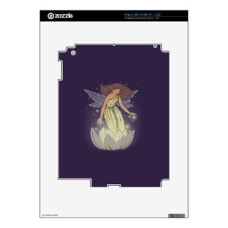 Arte de hadas mágico de la fantasía del resplandor calcomanía para el iPad 2