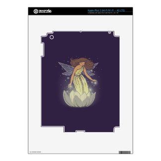 Arte de hadas mágico de la fantasía del resplandor pegatina skin para iPad 3