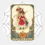 Arte de Halloween del vintage Pegatinas