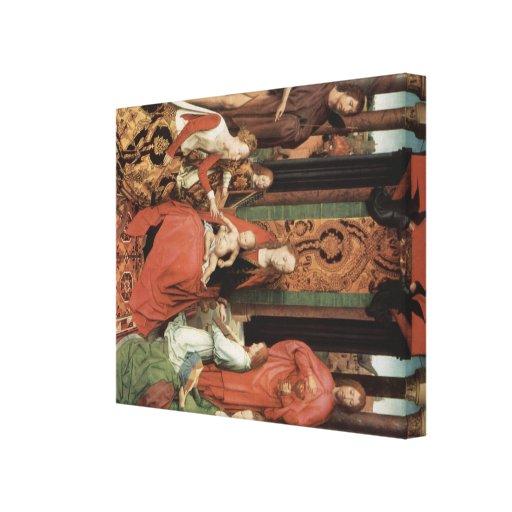 Arte de Hans Memling Lienzo Envuelto Para Galerías