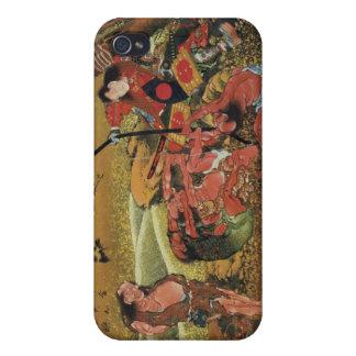 Arte de Hokusai iPhone 4 Protectores