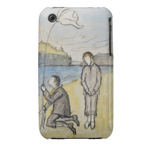 Arte de Hugo Simberg iPhone 3 Case-Mate Carcasas