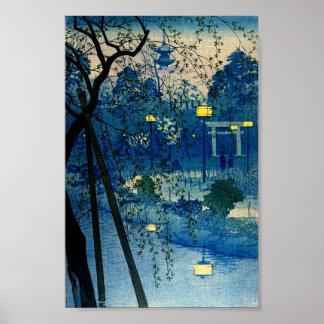 Arte de igualación japonés Ukiyo-E de Woodblock de Impresiones