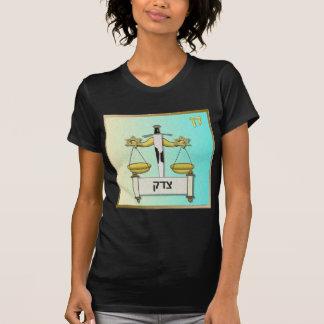 Arte de Israel Dan de las tribus de Judaica 12 Camiseta