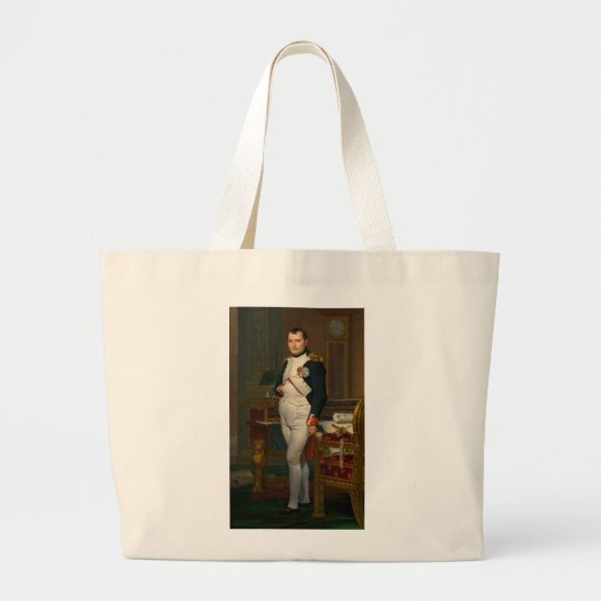 Arte de Jacques-Louis David Bolsa De Tela Grande