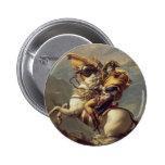 Arte de Jacques-Louis David Pin Redondo De 2 Pulgadas