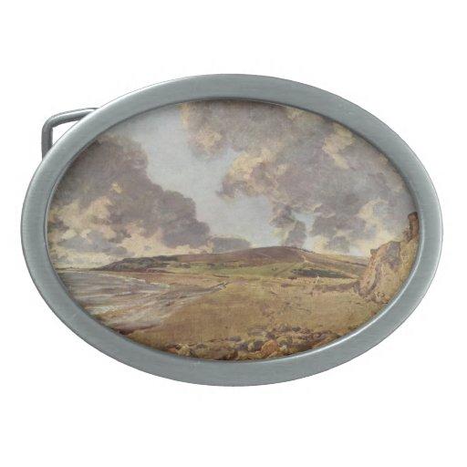 Arte de John Constable Hebillas Cinturon Ovales