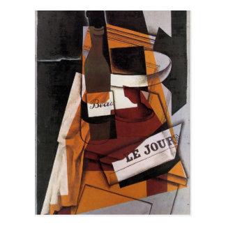 Arte de Juan Gris: Cuenco de la botella, del Tarjetas Postales