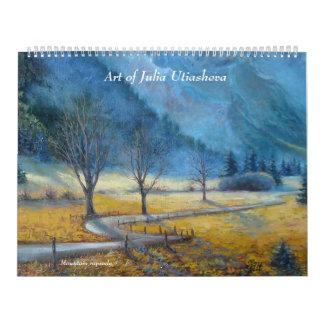 Arte de Julia Utiasheva Calendarios