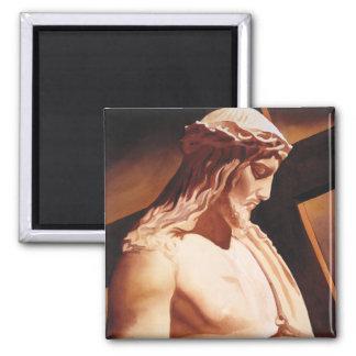 """Arte de la acuarela de Jesús """"de la pasión"""" Imanes De Nevera"""