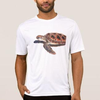 Arte de la acuarela de la fauna de la tortuga de camisetas