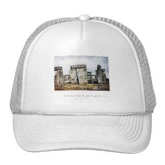 Arte de la acuarela de Stonehenge Gorra