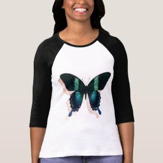 """Arte de la acuarela del insecto de la """"mariposa camiseta"""