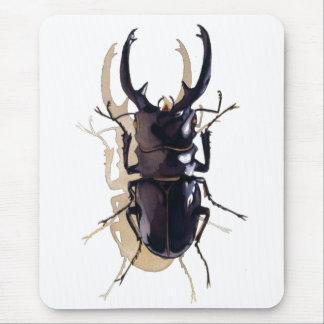 """""""Arte de la acuarela del insecto del escarabajo de Alfombrillas De Raton"""