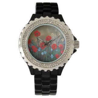 ARTE de la amapola por rokinronda Relojes De Mano