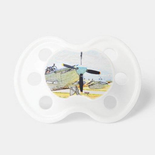 Arte de la aviación de la representación de la luc chupetes de bebe