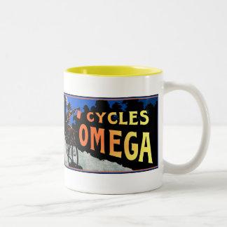 Arte de la bicicleta: Ciclos Omega Taza