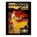 Arte de la bicicleta de Frederick Winthrop Ramsdel Postal