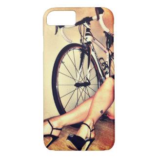 Arte de la bicicleta, de las piernas y de los funda iPhone 7