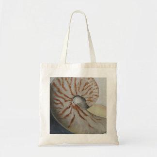 Arte de la bolsa de asas de la cáscara del mar del