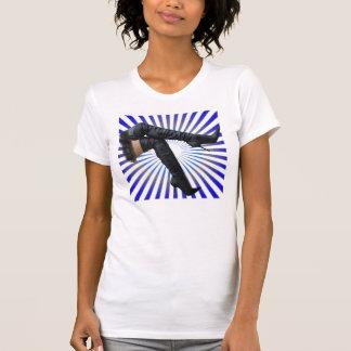 Arte de la BOTA - Starburst azul Camisetas