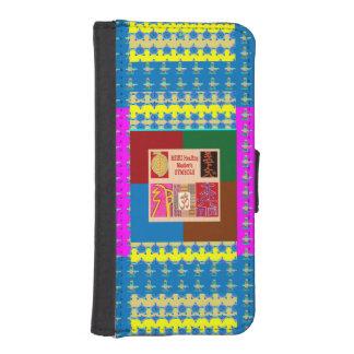 arte de la caja de la cartera del iPhone 5/5s por Funda Tipo Cartera Para iPhone 5