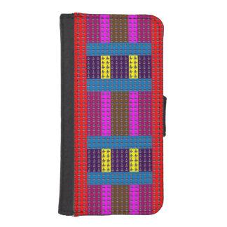 arte de la caja de la cartera del iPhone 5/5s por Fundas Billetera Para Teléfono