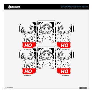 Arte de la calle de Santa: HO HO HO Mando PS3 Skins